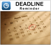 Deadline Reminder